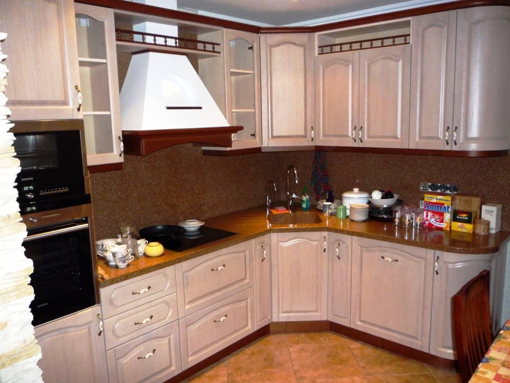Дизайн кухни не угловой