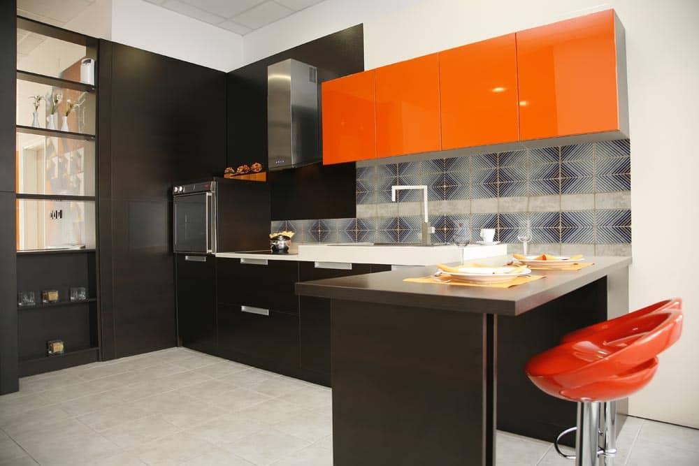 Кухня в стиле минимализм дизайн