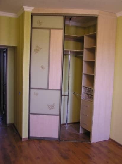 Угловые шкафы фото - interior.