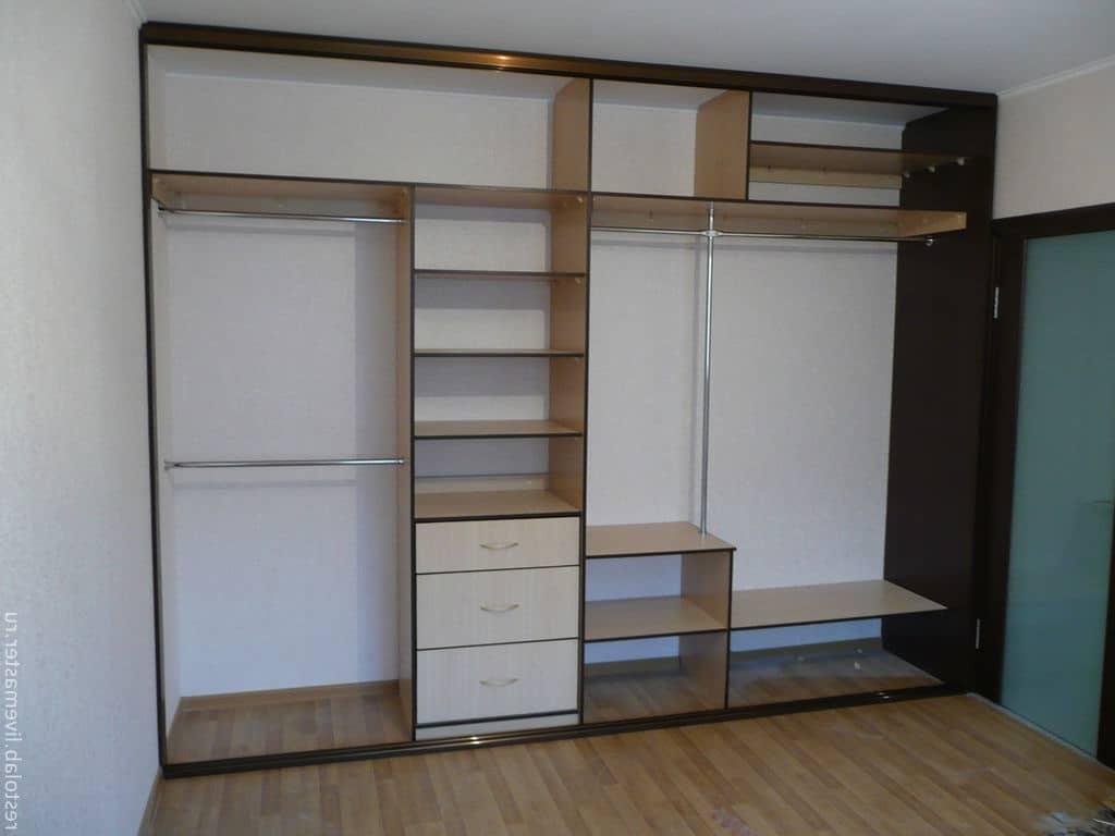 Встроенный шкаф своими руками в прихожую фото