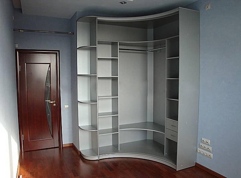 угловой шкаф купе в гостиную фото с проектом
